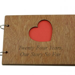 24 Year Anniversary – Our Story So Far Scrapbook