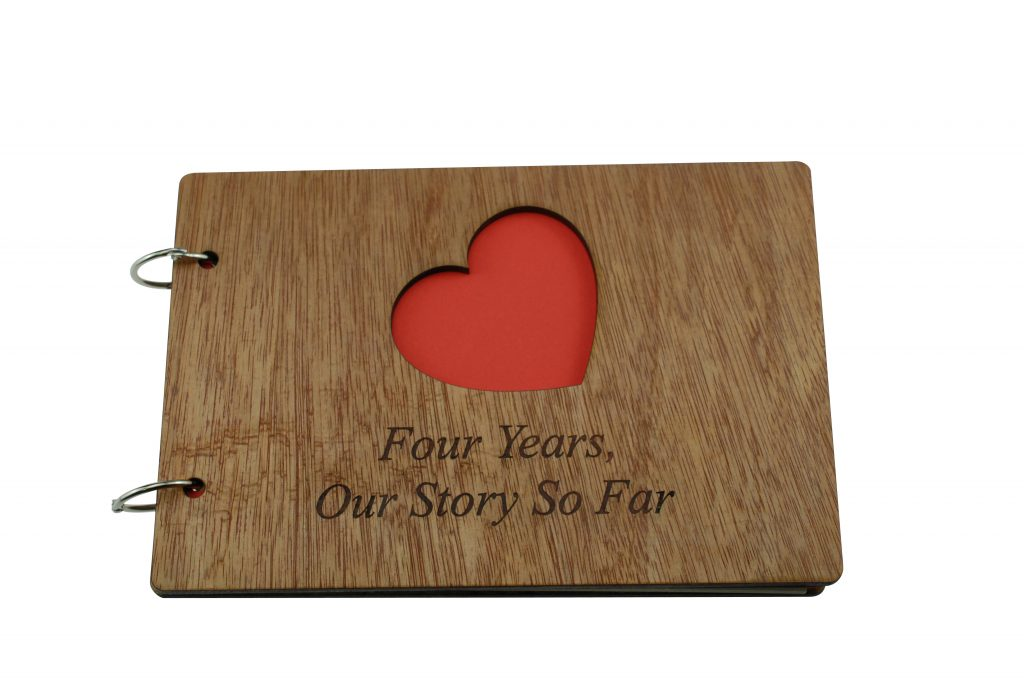 4 Year Anniversary – Our Story So Far Scrapbook